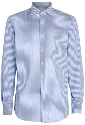 Ralph Lauren Purple Label Cotton Striped Oxford Shirt