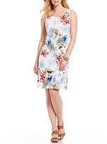 Tommy Bahama Eros Botanical Sleeveless Short Dress