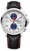 Baume & Mercier Clifton Club Shelby Cobra 10342 Stainless Steel & Leather Strap Watch