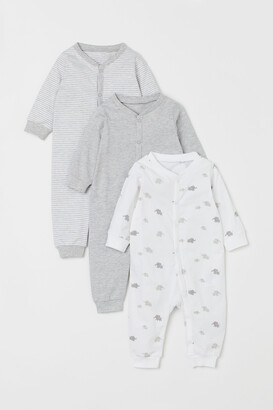 H&M 3-pack Cotton Pajamas