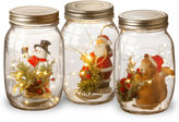 National Tree Co Holiday Accent Mason Jar Assortment With Lights