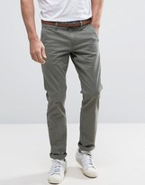 Esprit Slim Fit Chino With Belt