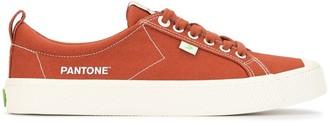 Cariuma x Pantone Picante low-top sneakers
