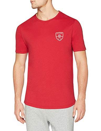 Tommy Hilfiger Men's Cn Tee Ss Badge Pyjama Top,Medium