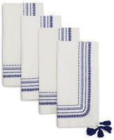 Sur La Table Mixed Stitch Napkins, Set of 4