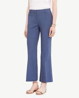 Ann Taylor Kick Crop Flare Pants
