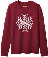 Joe Fresh Women's Snowflake Sweater, Navy (Size M)