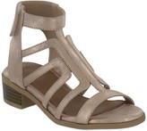 Mia Carlyn Caged Block Heel Sandal (Little Kid & Big Kid)