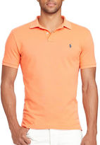 Polo Ralph Lauren Slim-Fit Weathered Mesh Polo
