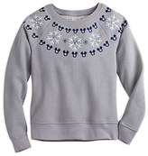 Disney Mickey Mouse Icon Holiday Pullover for Women