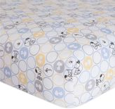 Lambs & Ivy My Little SnoopyTM Fitted Crib Sheet