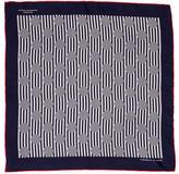 Turnbull & Asser Striped Silk Pocket Square