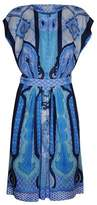 Etro Women's Light Blue/blue Viscose Dress.