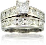 FINE JEWELRY 3 CT. T.W. Diamond 14K White Gold Bridal Ring Set