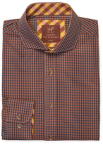 James Tattersall St. Ives Deep Tone Checkered Sportshirt