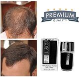 HAIR ILLUSION - 100% Natural Human Hair FibersNot Synthetic For Men & Women, Premium Hair Building Formulation, Brown 18g