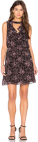 BCBGeneration Ruffle Front Dress