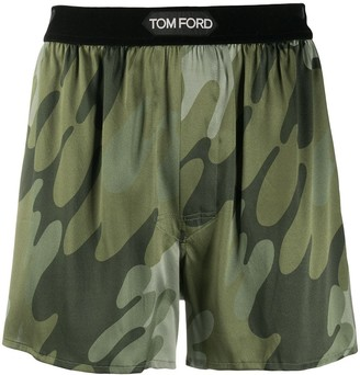 Tom Ford Camouflage-Print Boxers