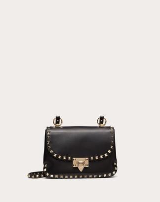 Valentino Small Rockstud Smooth Calfskin Crossbody Bag Women Skin Color Calfskin 100% OneSize