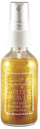 Captain Blankenship Golden Waves Sea Salt Shimmer Spray 2 oz.