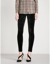 Theory Adbelle skinny velour leggings