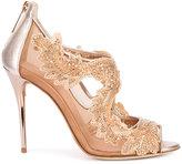 Oscar de la Renta Ambria sandals - women - Leather/Nylon - 40