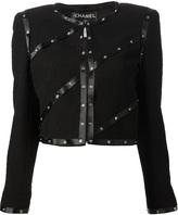 Chanel snap embellished jacket