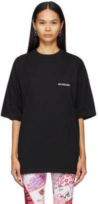 Balenciaga Black Oversized Defile T-Shirt