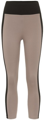 Ernest Leoty Therese cropped high-rise leggings