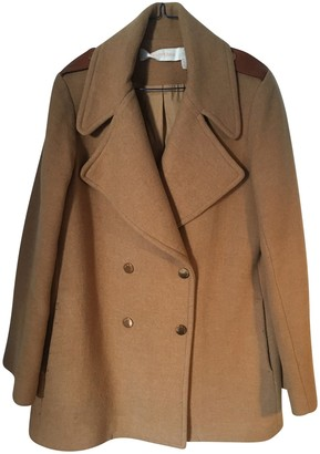 See by Chloe Camel Wool Coat for Women