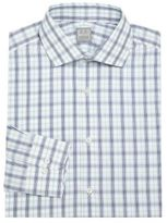 Ike Behar Regular-Fit Cotton Long Sleeve Dress Shirt