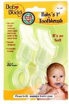 Baby Buddy Baby's 1st Toothbrush Clear