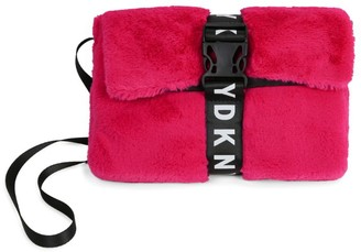 DKNY Faux Fur Cross-Body Bag