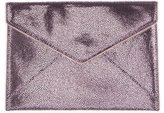 Rebecca Minkoff Embossed Metallic Envelope Clutch