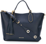 MICHAEL Michael Kors eyelet detail tote - women - Leather - One Size