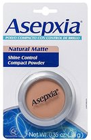 ASEPXIA Shine Control Compact Powder Makeup Lightweight Breathable Natural, 0.35 oz