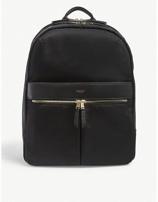 Knomo Women's Black Mayfair Beaufort Backpack
