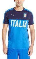 Puma Men's Figc Italia Fanwear Graphic Tee