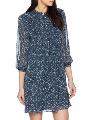 Gant Women's O1. Printed Chiffon Dress