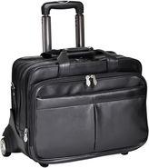 McKlein McKleinUSA Wicker Park 17 Leather Detachable -Wheeled Three-Way Laptop Backpack Briefcase