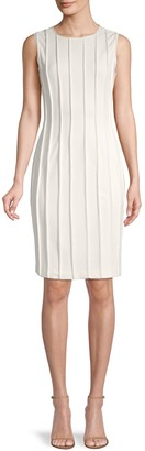 Donna Karan Exposed-Seam Sheath Dress