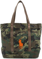 Polo Ralph Lauren camouflage tote bag