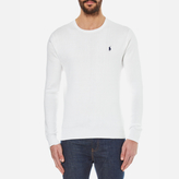 Polo Ralph Lauren Crew Neck Pima Cotton Knitted Jumper White