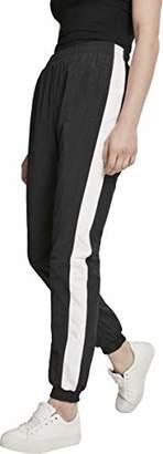 Urban Classic Women's Ladies Striped Crinkle Pants Trouser,18 (Size: )