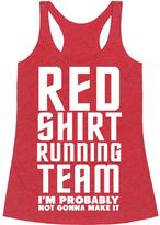 'Red Shirt Running Team' Racerback Tank