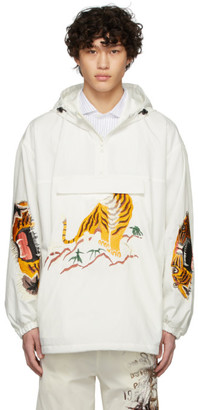 Doublet White Embroidery Jacket
