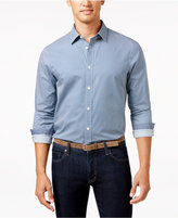 Michael Kors Men's Lucas Birdseye Long-Sleeve Shirt