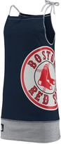 Unbranded Women's Refried Tees Navy Boston Red Sox Tee-Tank Dress