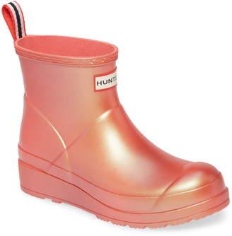Hunter Short Nebula Play Rain Boot
