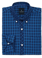 Tailorbyrd Boys' Woven Check Shirt - Big Kid